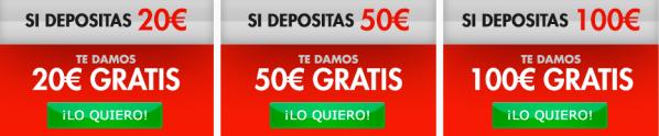 Bono Sportium 100€