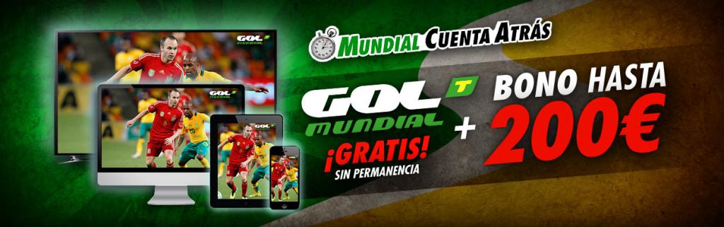 Mundial brasil 2014 gratis con GolT y sportium blog jrvm