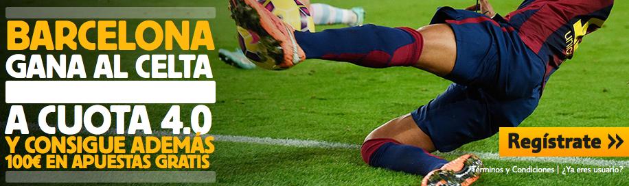Apuestas Celta vs FC Barcelona