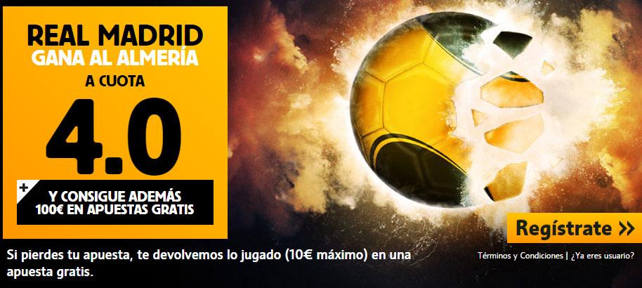 Apuesta Real Madrid Almería