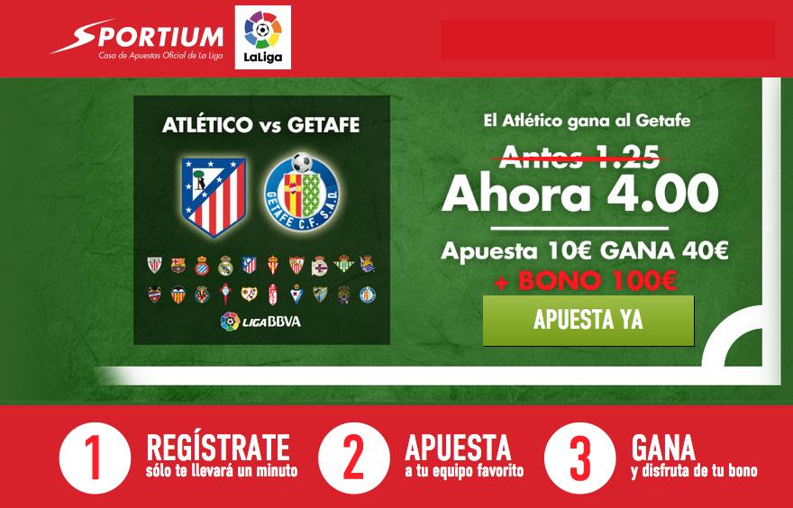 Supercuota Atlético Getafe