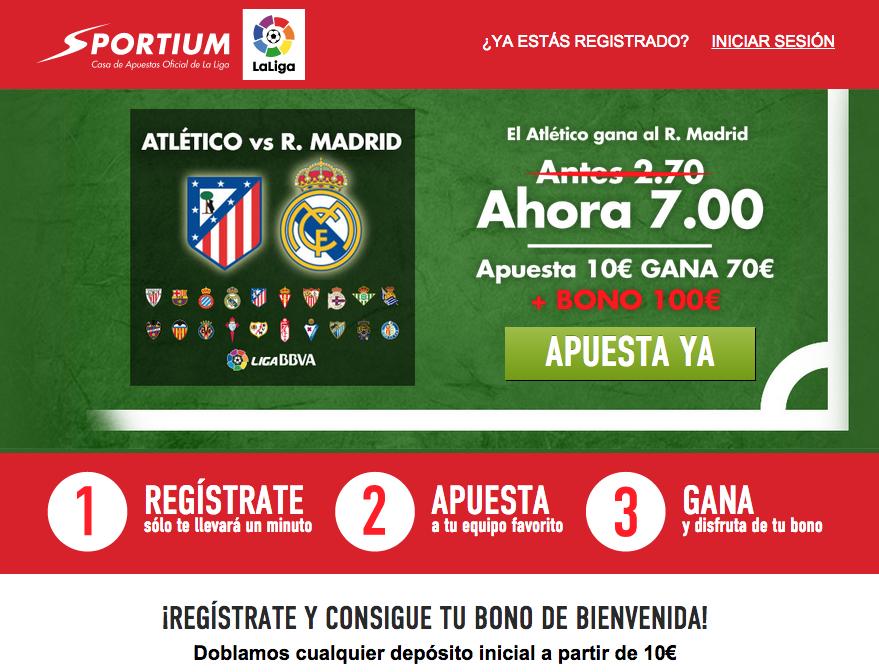Atlético a 7