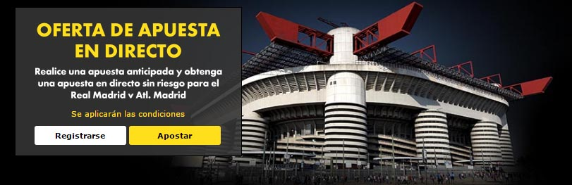 Apuesta gratis en directo de 25€ Final Champions League