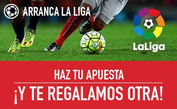 Apuesta gratis Sportium LaLiga