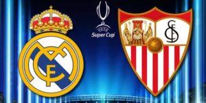Apuestas Supercopa Europa: Real Madrid – Sevilla