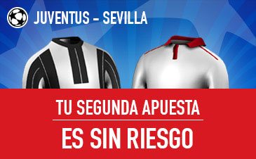 Oferta apuesta Champions League: Juventus – Sevilla