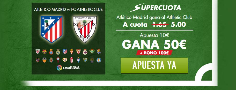 Supercuota Atlético vs Athletic