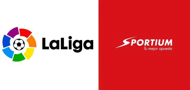 Sportium es  el patrocinador Oficial de La Liga 2020/21